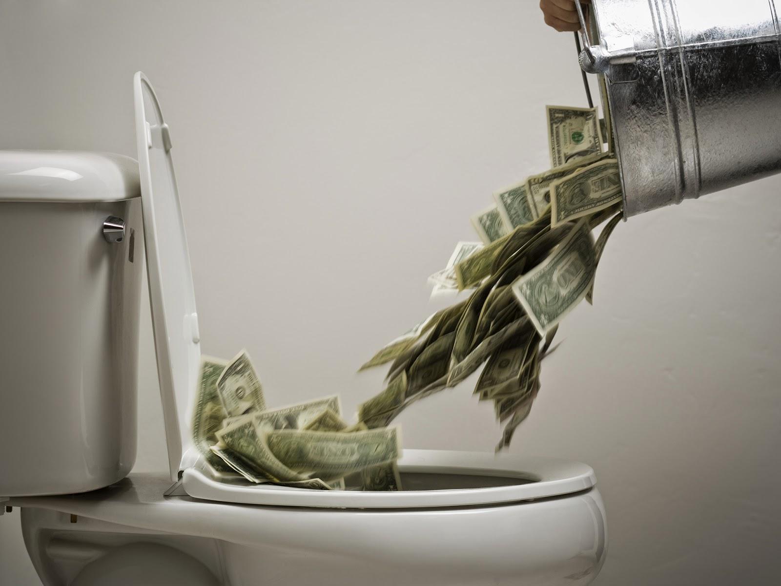 soldi buttati